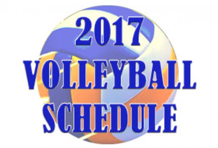 2017 Women's Volleyball Schedule