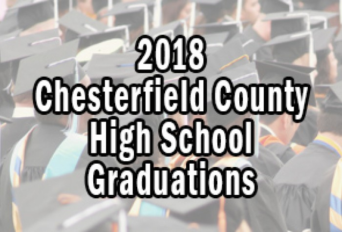 2018 Chesterfield County High School Graduations